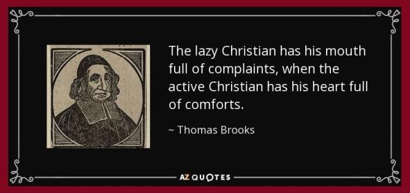 lazy christian